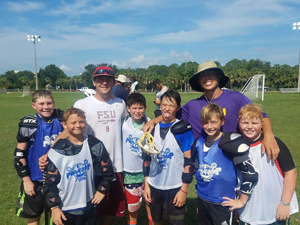 Division I Stars Dylan Lowdermilk and Trip McGinty Lacrosse Pro Camp Assistants